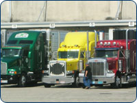 tractor trailer truck washing services